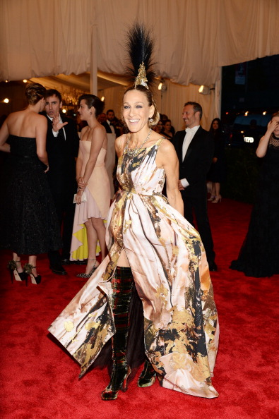 "Sarah Jessica Parker「""PUNK: Chaos To Couture"" Costume Institute Gala」:写真・画像(8)[壁紙.com]"