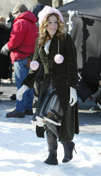 Sarah Jessica Parker「Sex and the City Filming in Central Park」:写真・画像(8)[壁紙.com]