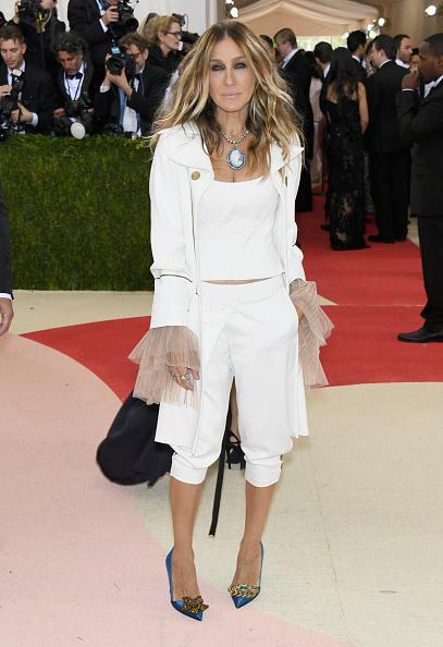 "Sarah Jessica Parker「""Manus x Machina: Fashion In An Age Of Technology"" Costume Institute Gala - Arrivals」:写真・画像(10)[壁紙.com]"