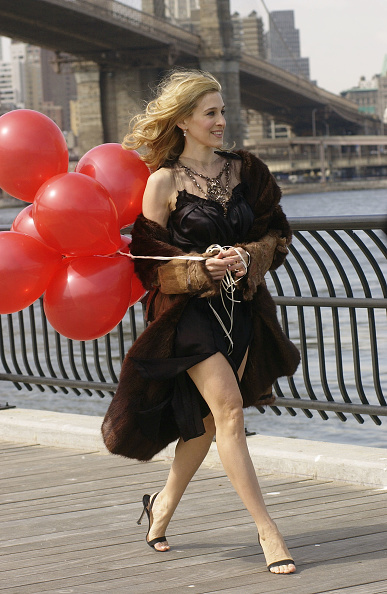 Sex and the City - Television Show「Sarah Jessica Parker Films Sex and the City Promo Video」:写真・画像(16)[壁紙.com]
