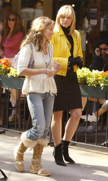 Sarah Jessica Parker「Sarah Jessica Parker and Kim Cattrall」:写真・画像(5)[壁紙.com]
