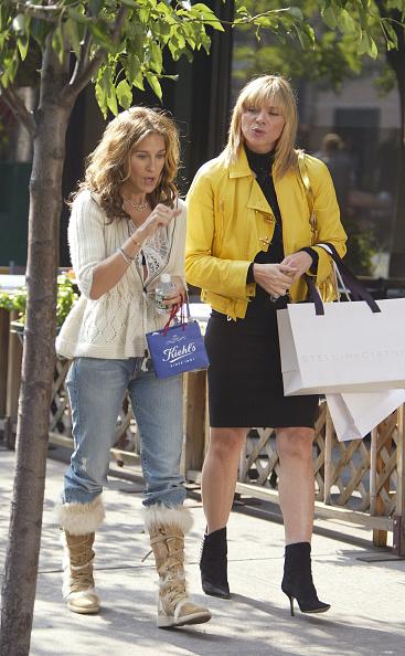 Sarah Jessica Parker「Sarah Jessica Parker and Kim Cattrall」:写真・画像(6)[壁紙.com]