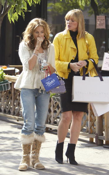 Sarah Jessica Parker「Sarah Jessica Parker and Kim Cattrall」:写真・画像(8)[壁紙.com]