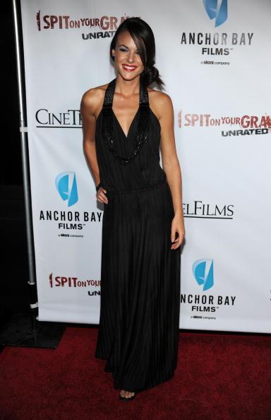 """Halter Top「Premiere Of Anchor Bay Films' """"I Spit On Your Grave"""" - Arrivals」:写真・画像(1)[壁紙.com]"""