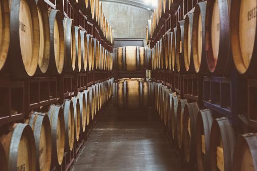 St「Wine barrels aging」:スマホ壁紙(4)