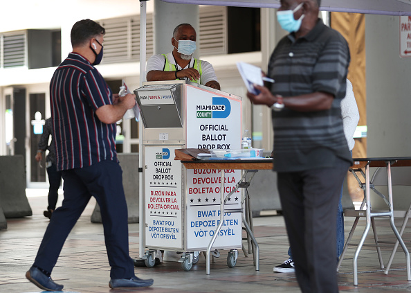 Florida - US State「Florida Voters Use Designated Drop Boxes To Submit Ballots」:写真・画像(0)[壁紙.com]