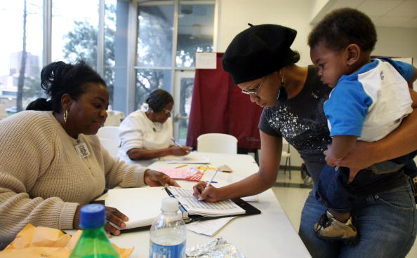 African Ethnicity「Louisiana Voters Go To The Polls For State's Primary」:写真・画像(5)[壁紙.com]