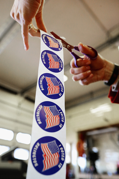 Super Tuesday「Voters In Super Tuesday States Cast Their Ballots」:写真・画像(5)[壁紙.com]