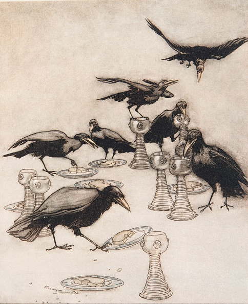 Chromolithograph「The Seven Ravens」:写真・画像(13)[壁紙.com]