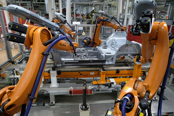 Industry「Volkswagen Automobile Production At Wolfsburg Plant」:写真・画像(8)[壁紙.com]