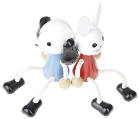 Baby Rabbit「Toy pupppy and toy kitty」:スマホ壁紙(12)