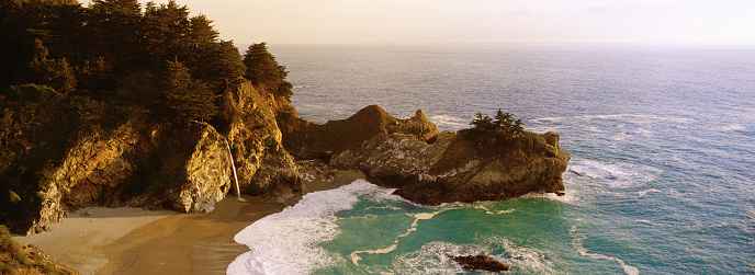 Julia Pfeiffer Burns State Park「McWay Cove」:スマホ壁紙(18)