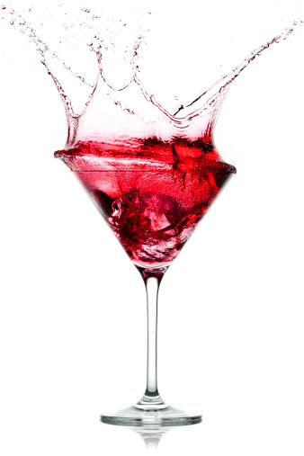 Juice - Drink「Red Cocktail Splash」:スマホ壁紙(12)