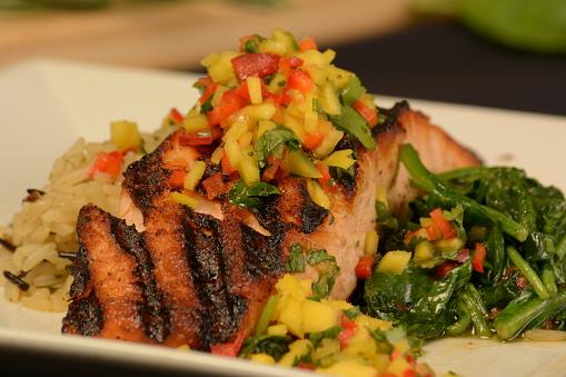 Basmati Rice「Grilled Atlantic Slamon」:スマホ壁紙(5)