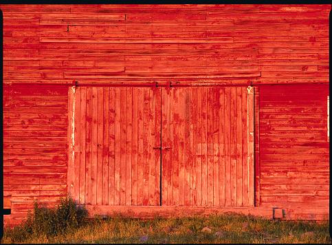 1990-1999「Detail of a Red Barn」:スマホ壁紙(13)