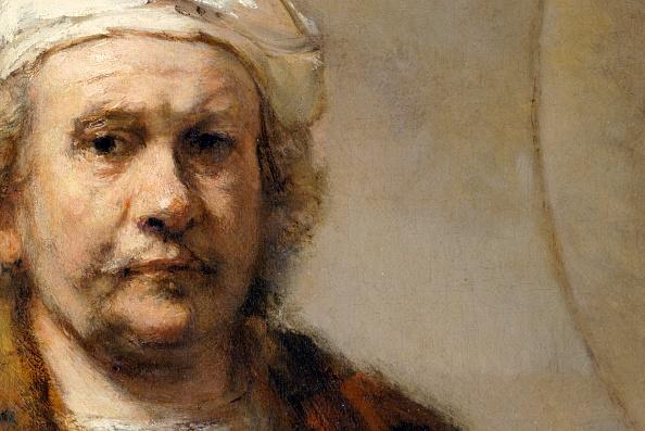 Painting - Activity「Detail Of A Self-Portrait Of Dutch Painter Rembrandt Van Rijn」:写真・画像(3)[壁紙.com]