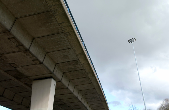 Architectural Feature「Detail of a flyover」:写真・画像(4)[壁紙.com]