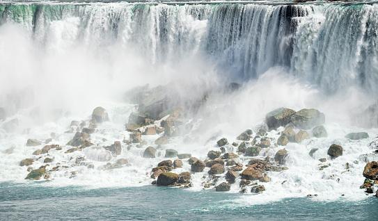 American Falls「Detail of American Falls at Niagara」:スマホ壁紙(8)