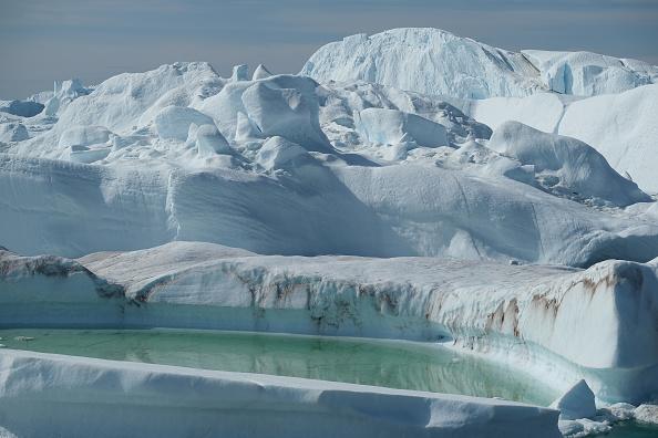 Iceberg - Ice Formation「Western Greenland Hit By Unseasonably Warm Weather」:写真・画像(19)[壁紙.com]