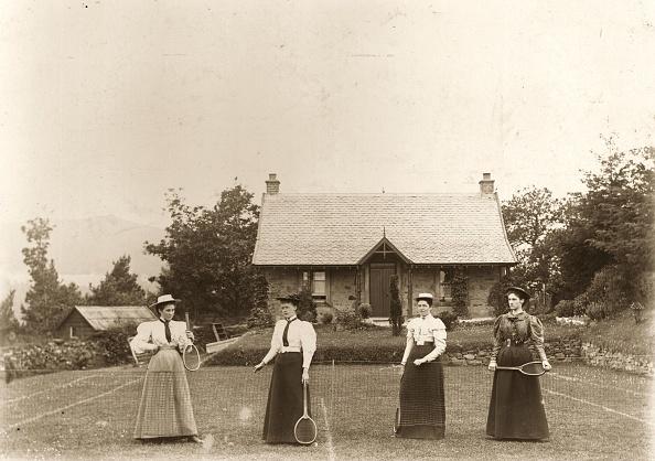 19th Century「Lawn Tennis Ladies」:写真・画像(16)[壁紙.com]