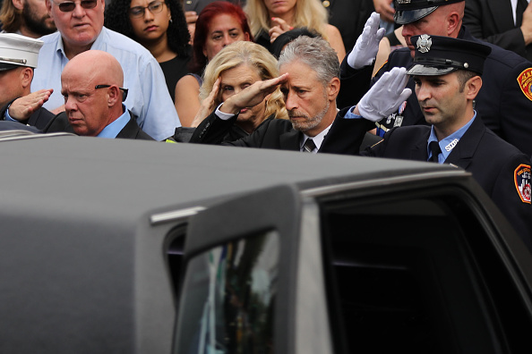 Emergency Services Occupation「Funeral Held For 9/11 First Responder  Luis Alvarez」:写真・画像(12)[壁紙.com]