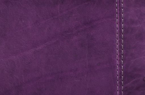 Sewing「Purple  Leather Texture with Stitch Detail」:スマホ壁紙(5)