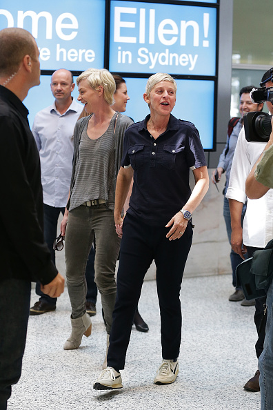 Cultures「Ellen DeGeneres Arrives In Sydney」:写真・画像(4)[壁紙.com]