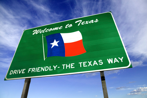 US State Border「Texas welcome sign」:スマホ壁紙(15)