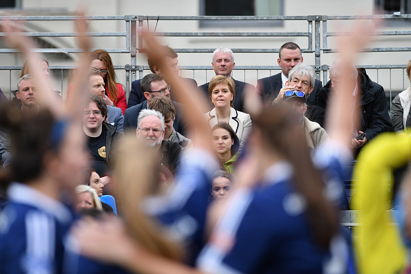 Women's Soccer「Nicola Sturgeon Attends The Homeless World Cup」:写真・画像(11)[壁紙.com]