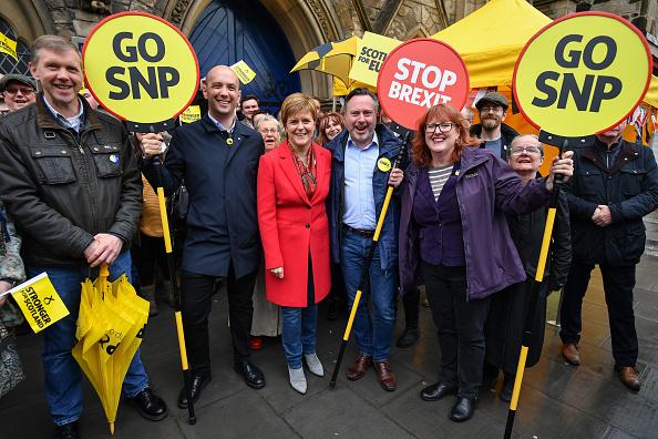 """Brexit「Nicola Sturgeon Says """"Stop Brexit, Go SNP""""」:写真・画像(6)[壁紙.com]"""