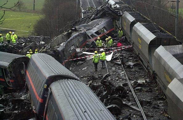Train Crash「Train Wreck at Great Heck North Yorkshire」:写真・画像(5)[壁紙.com]