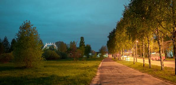 Circus Tent「Public Park at Night」:スマホ壁紙(12)