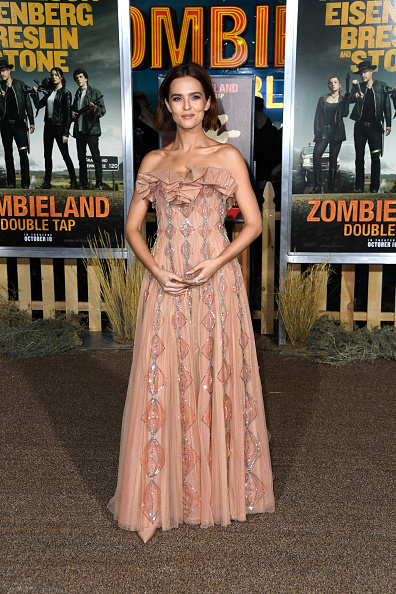 """Nude Colored Dress「Premiere Of Sony Pictures' """"Zombieland Double Tap"""" - Arrivals」:写真・画像(6)[壁紙.com]"""