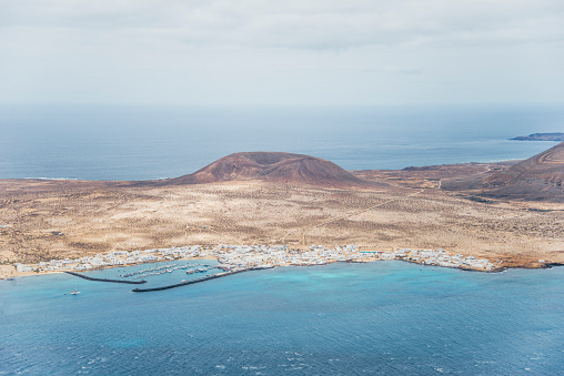 La Graciosa - Canary Islands「Caleta de Sebo, Graciosa Island」:スマホ壁紙(1)