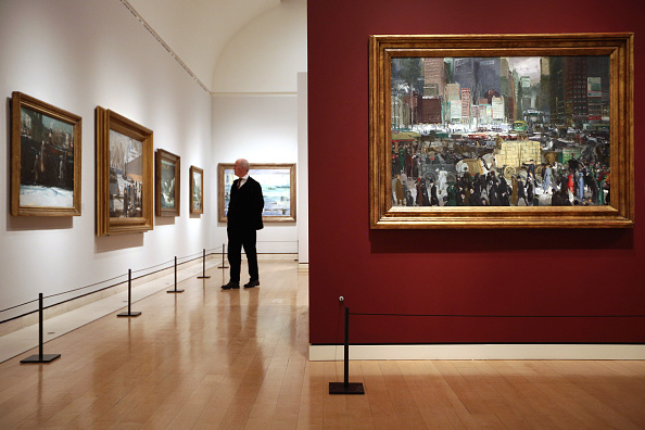 Art Museum「The Royal Academy Of Arts Hold An Exhibition Of American Artist George Bellows Works」:写真・画像(11)[壁紙.com]