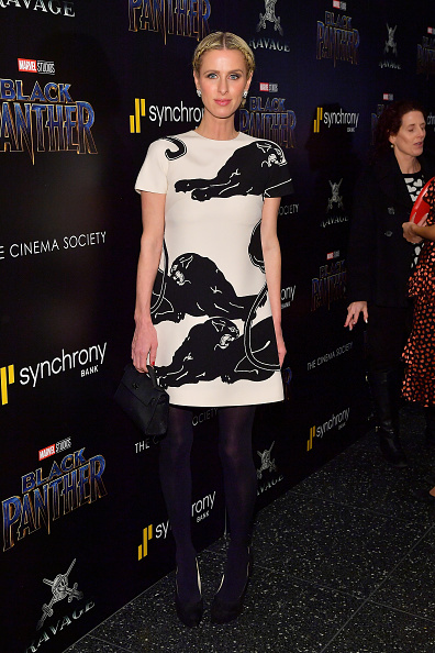 ニッキー・ヒルトン「The Cinema Society Hosts A Screening Of Marvel Studios' 'Black Panther'」:写真・画像(17)[壁紙.com]