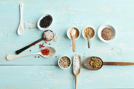 Spice「Various sorts of salt and various sorts of pepper」:スマホ壁紙(15)