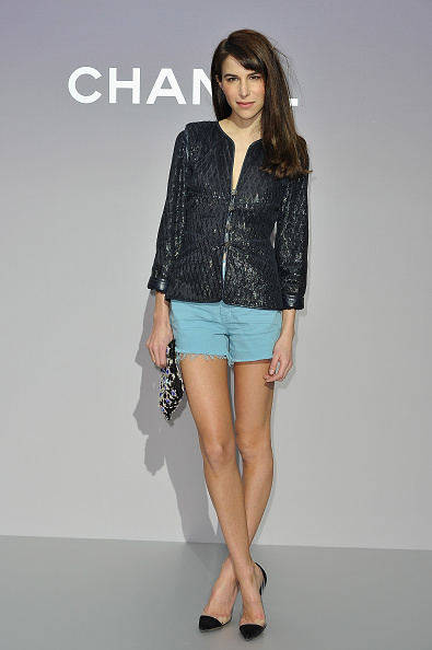 Leather Jacket「Chanel: Photocall - Paris Fashion Week Womenswear Fall/Winter 2012」:写真・画像(13)[壁紙.com]