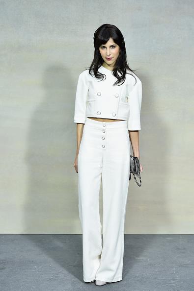 ボタン「Chanel : Front Row  - Paris Fashion Week Womenswear Spring/Summer 2015」:写真・画像(5)[壁紙.com]