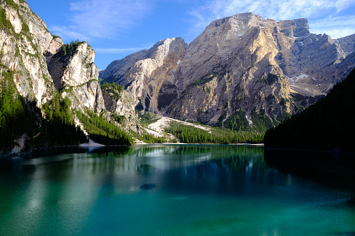 Alto Adige - Italy「Lake Braies at Sunrise, Dolomies, Italy」:スマホ壁紙(0)