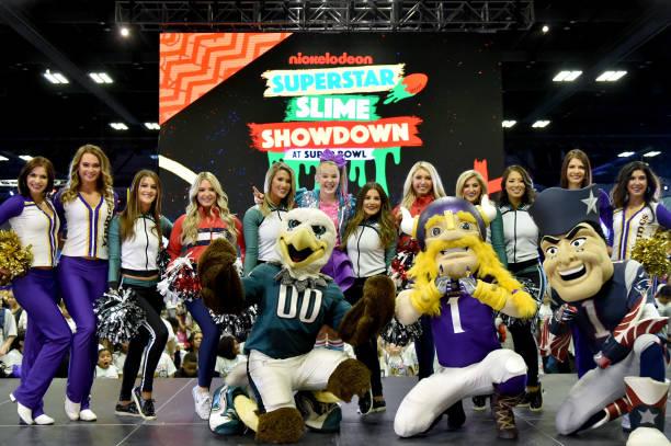 パフォーマンス「Nickelodeon at the Super Bowl Experience  - JoJo Siwa performance at NFL Play 60 Kids Day」:写真・画像(5)[壁紙.com]