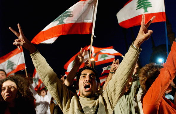 Middle East「Protesters Set Up Anti Syrian Camp In Martyr's Square」:写真・画像(1)[壁紙.com]