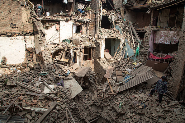 Damaged「Death Toll Rises Following Powerful Earthquake In Nepal」:写真・画像(13)[壁紙.com]