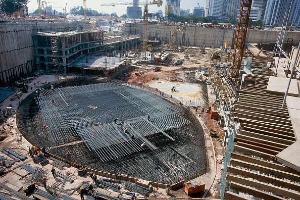 Kula「View of foundations of the Petronas Towers, Kula Lumpur, Malaysia.」:写真・画像(3)[壁紙.com]