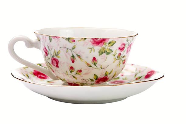 Antique Tea Cup:スマホ壁紙(壁紙.com)