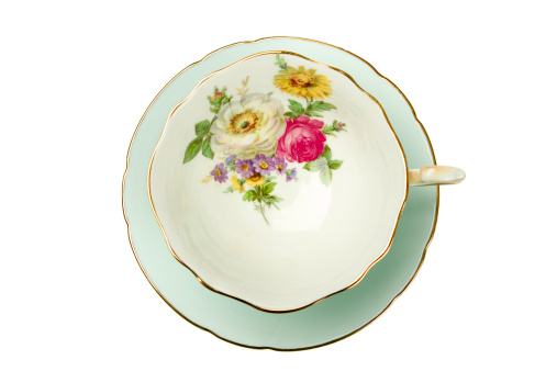 Porcelain「Antique Tea Cup」:スマホ壁紙(12)