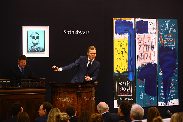 Sotheby's「Contemporary Art Evening Auction At Sotheby's, London」:写真・画像(14)[壁紙.com]