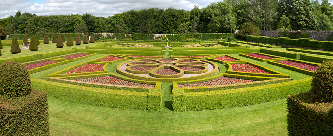 Hedge「Pitmedden Garden, Scotland」:スマホ壁紙(19)