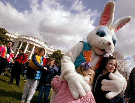 Easter Bunny「White House Easter Egg Roll」:写真・画像(7)[壁紙.com]