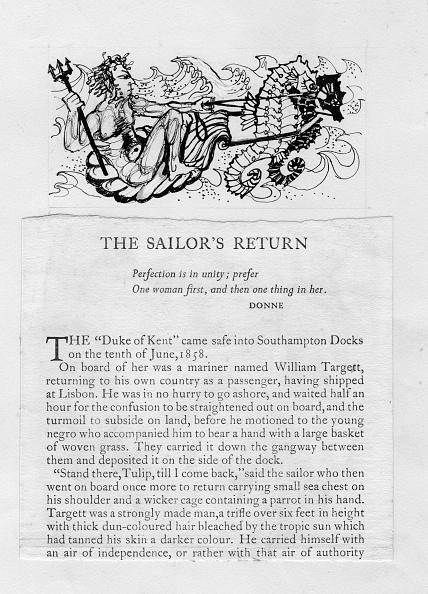 Sea Life「The Sailors Return, 1」:写真・画像(9)[壁紙.com]